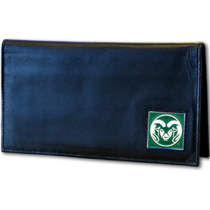 Colorado State Leather Checkbook Cover (F)