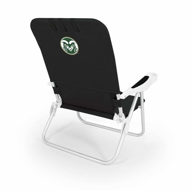 Colorado State Monaco Beach Chair (Black)