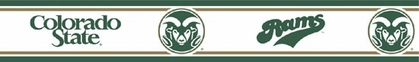 Colorado State Peel and Stick Wallpaper Border