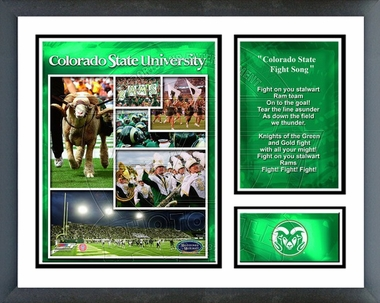 Colorado State Rams Framed Milestones & Memories# 207