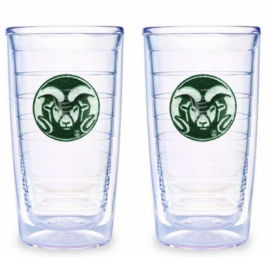 Colorado State Set of TWO 16 oz. Tervis Tumblers