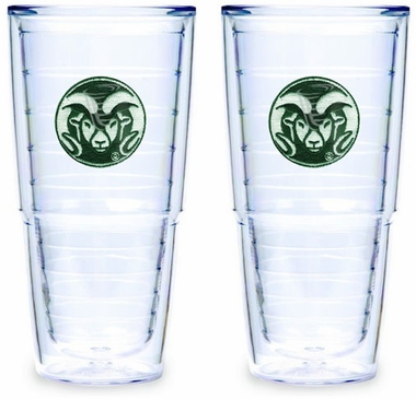 Colorado State Set of TWO 24 oz. Tervis Tumblers