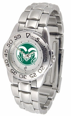 Colorado State Sport Women's Steel Band Watch