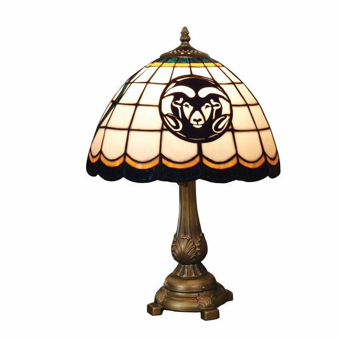 Colorado State Stained Glass Table Lamp