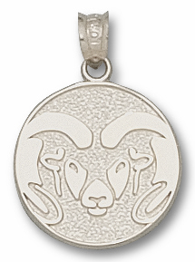 Colorado State Sterling Silver Pendant