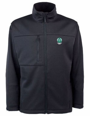 Colorado State Mens Traverse Jacket (Color: Black)