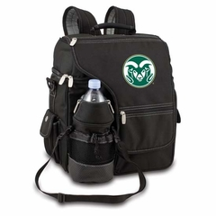 Colorado State Turismo Embroidered Backpack (Black)