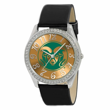 Colorado State Women's Glitz Watch