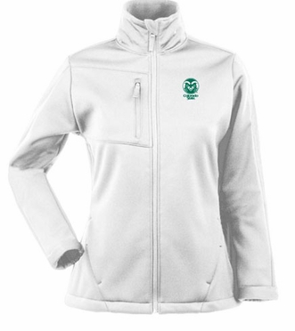 Colorado State Womens Traverse Jacket (Color: White)