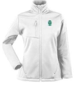 Colorado State Womens Traverse Jacket (Color: White) - Large