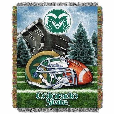 Colorado State Woven Tapestry Blanket