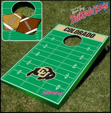 Colorado Tailgate Toss Cornhole Beanbag Game