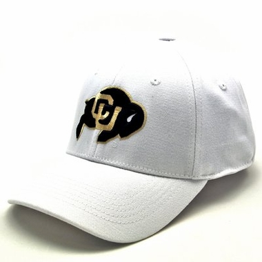 Colorado White Premium FlexFit Hat