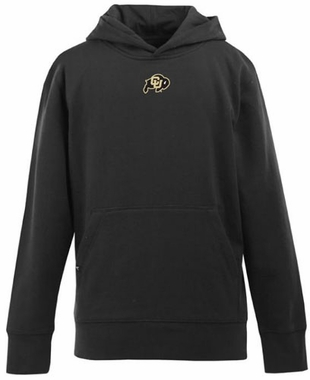 Colorado YOUTH Boys Signature Hooded Sweatshirt (Team Color: Black)