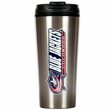 Columbus Blue Jackets 16 oz. Thermo Travel Tumbler
