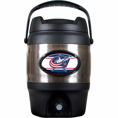 Columbus Blue Jackets 3 Gallon Stainless Steel Jug