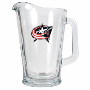 Columbus Blue Jackets 60 oz Glass Pitcher
