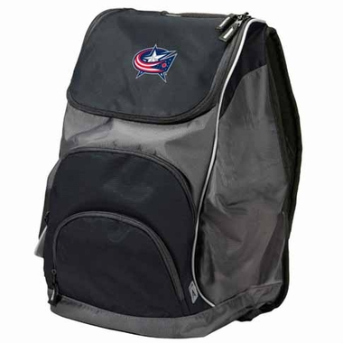 Columbus Blue Jackets Action Backpack (Color: Black)