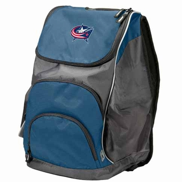 Columbus Blue Jackets Action Backpack (Color: Navy)