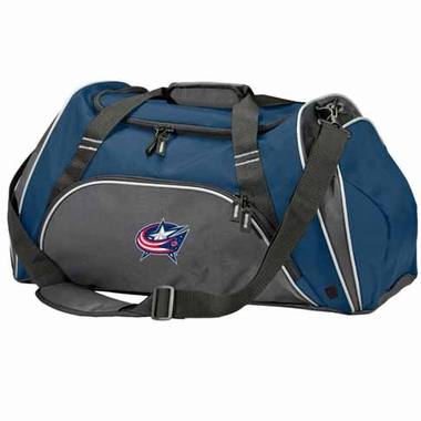 Columbus Blue Jackets Action Duffle (Color: Grey)