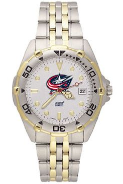 Columbus Blue Jackets All Star Mens (Steel Band) Watch