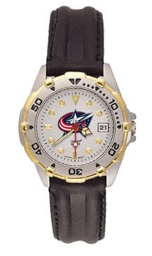 Columbus Blue Jackets All Star Womens (Leather Band) Watch