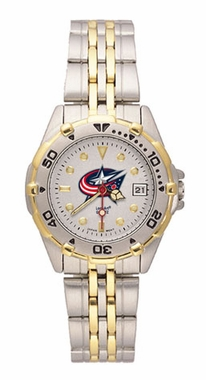 Columbus Blue Jackets All Star Womens (Steel Band) Watch