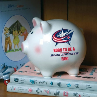 Columbus Blue Jackets (Born to Be) Piggy Bank