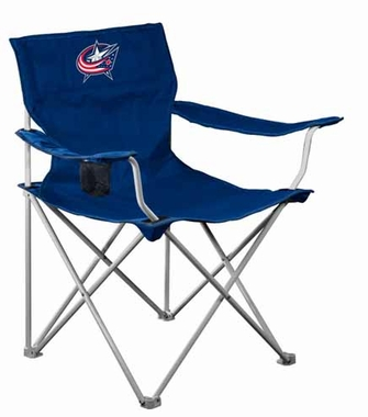 Columbus Blue Jackets Canvas Adult Folding Logo Chair