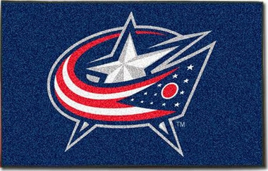 Columbus Blue Jackets Economy 5 Foot x 8 Foot Mat