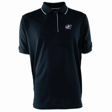 Columbus Blue Jackets Mens Elite Polo Shirt (Team Color: Navy)