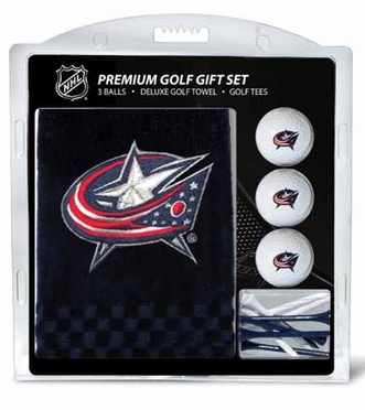 Columbus Blue Jackets Embroidered Towel Gift Set