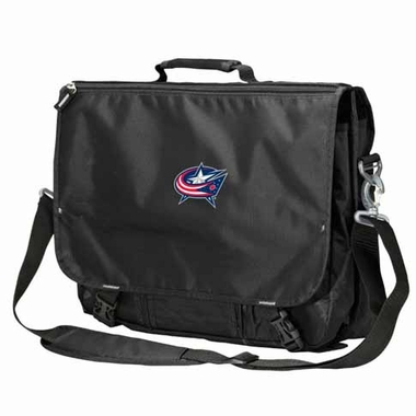 Columbus Blue Jackets Executive Attache Messenger Bag