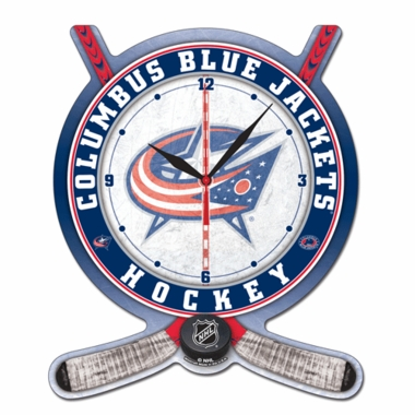 Columbus Blue Jackets High Definition Wall Clock