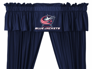 Columbus Blue Jackets Logo Jersey Material Valence