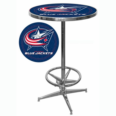 Columbus Blue Jackets Pub Table