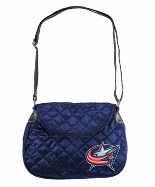 Columbus Blue Jackets Quilted Saddlebag