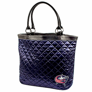 Columbus Blue Jackets Quilted Tote