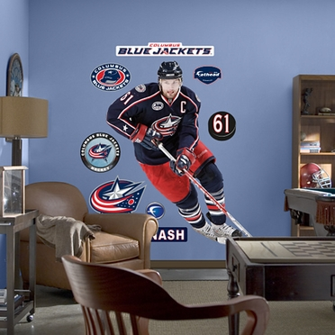 Columbus Blue Jackets Rick Nash Fathead Wall Graphic