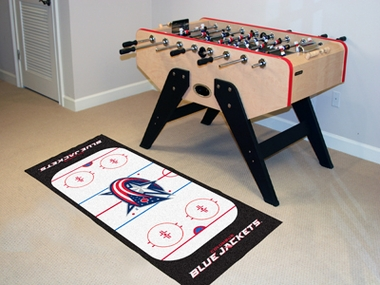Columbus Blue Jackets Rink Runner Rug