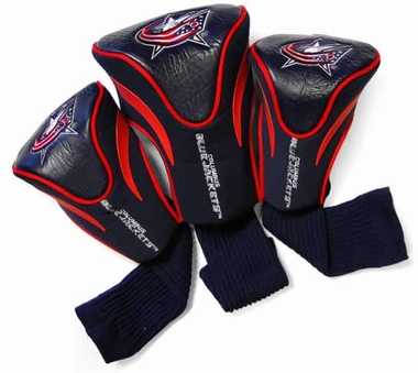 Columbus Blue Jackets Set of Three Contour Headcovers