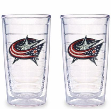 Columbus Blue Jackets Set of TWO 16 oz. Tervis Tumblers