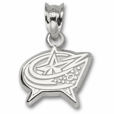 Columbus Blue Jackets Sterling Silver Pendant
