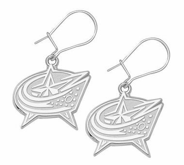 Columbus Blue Jackets Sterling Silver Post or Dangle Earrings