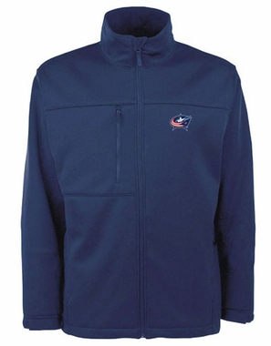 Columbus Blue Jackets Mens Traverse Jacket (Color: Navy)