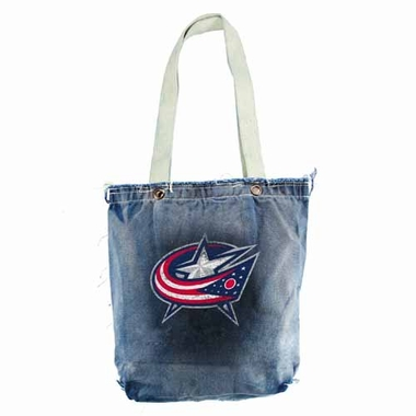 Columbus Blue Jackets Vintage Shopper (Denim)