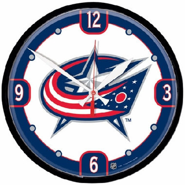 Columbus Blue Jackets Wall Clock