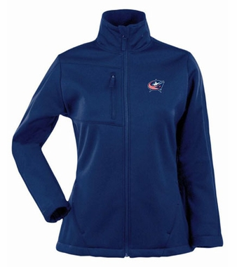 Columbus Blue Jackets Womens Traverse Jacket (Color: Navy)