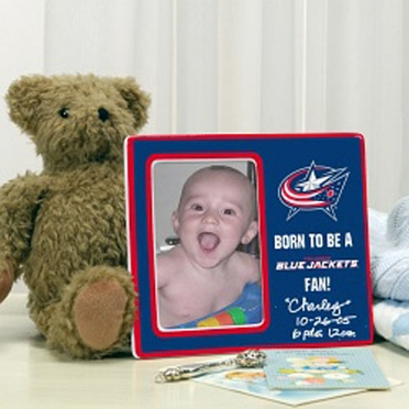 Columbus Blue Jackets Youth Picture Frame