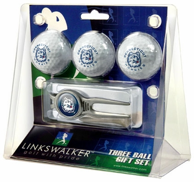 Connecticut 3 Ball Gift Pack With Kool Tool